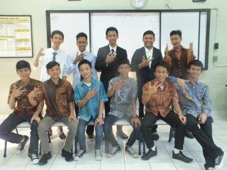 Acara Perpisahan Siswa Kls 9 tahun ajaran 2014/2015 di Basket Court SMP N 37 Jakarta